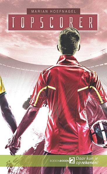 Cover boek Topscorer Jongen met bal